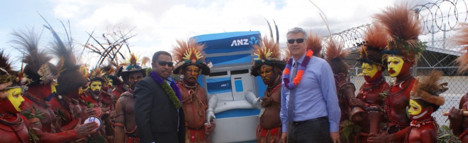 ANZ Bank and Hides Gas Development Company Ltd officially launch Para Camp and ANZ Hides Branch